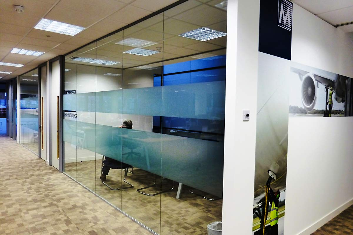 Menzies Aviation offices - interior design by Tenet Design