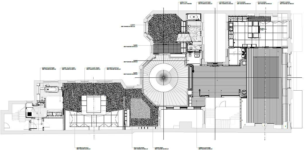 Mayfair flat layout plans