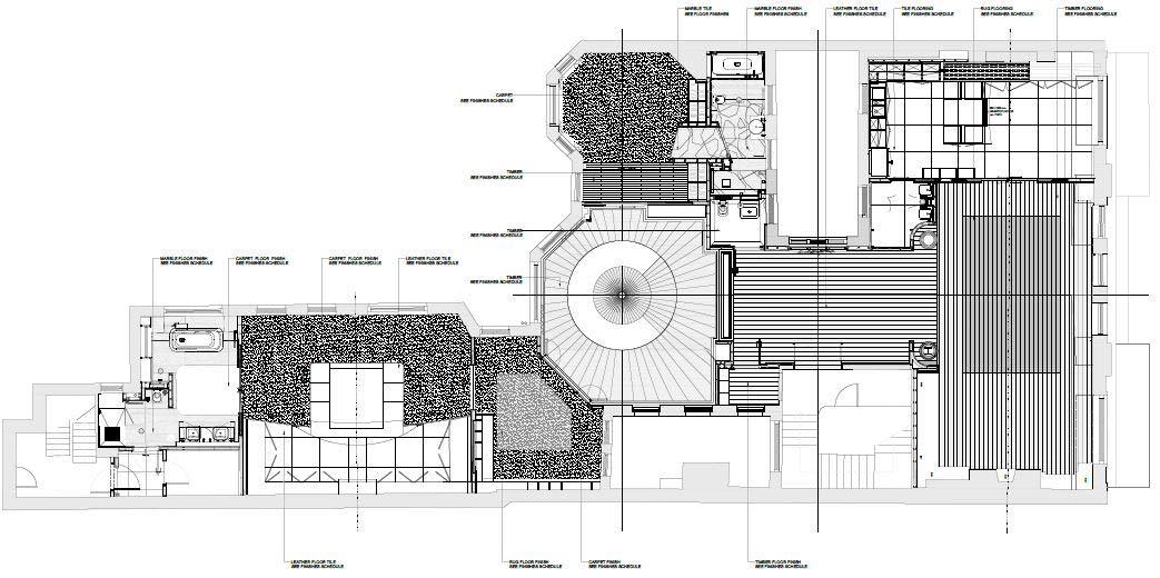 Mayfair flat layout plans