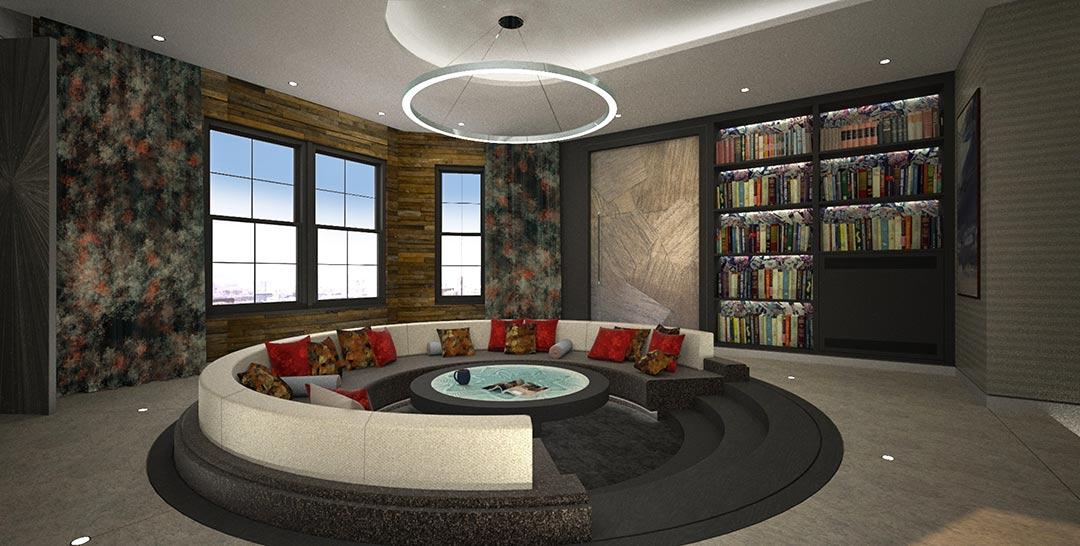 Revolving sofa original design