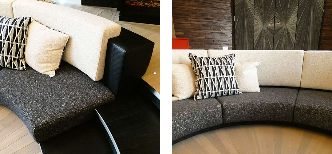 Sofa installation